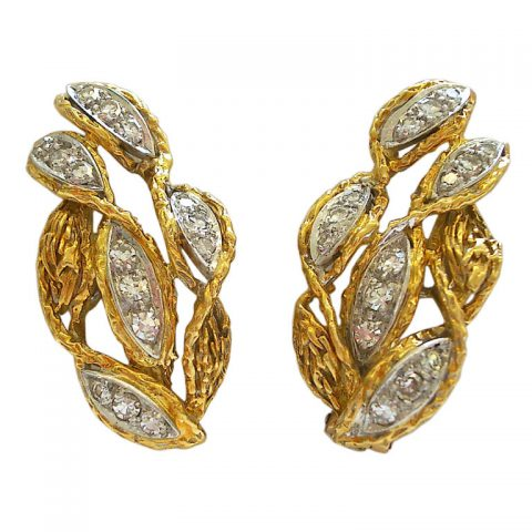 18k-gold-and-diamond-earclips-by-kutchinsky-c1960-1