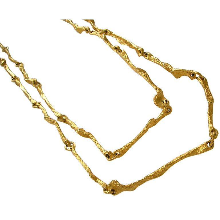 Lapponia gold necklace