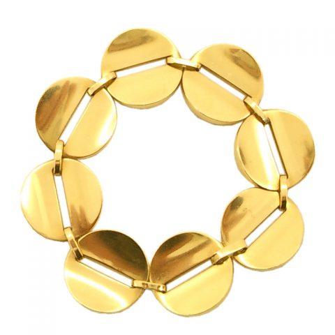 Gold-Bracelet-by-George-Jensen-c.1960-1