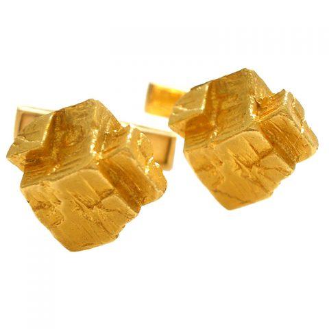 Gold-Cuff-Links-by-Kuchinsky-1963-1