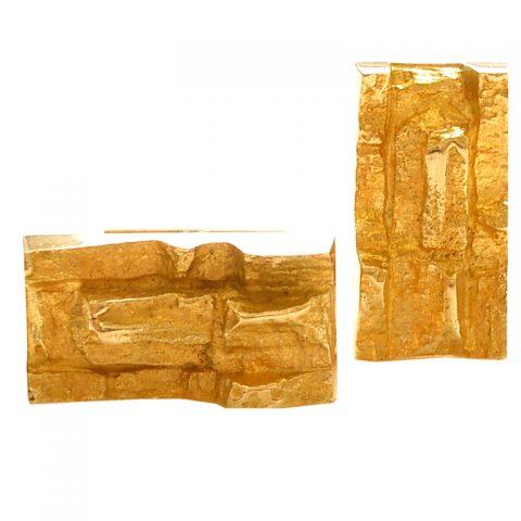 Gold-Cufflinks-by-Bjorn-Weckstrom-for-Lapponia-1970-1