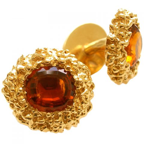Gold-and-Citrine-Cuff-Links-by-William-Ruser-c1960-1