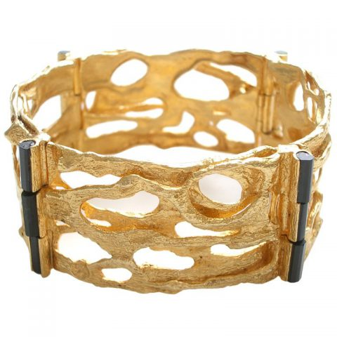 Gold-and-Tourmaline-Bracelet-Bjorn-Weckstrom-for-Lapponia-1971-1