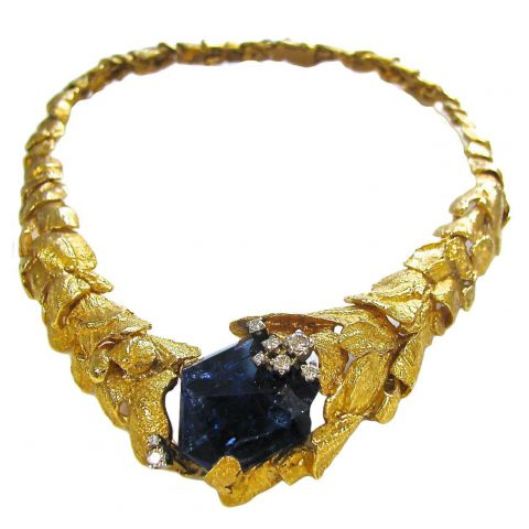 Gold_And_Tanzanite_Necklace