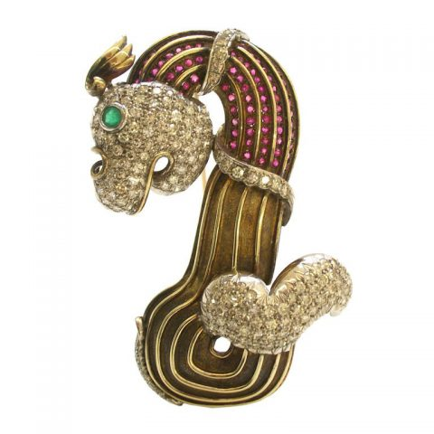 Gold_Diamond_Ruby_and_Emerald_Brooch