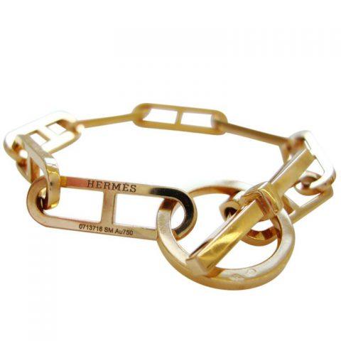 HERMES-18k-Gold-Bracelet-France-1