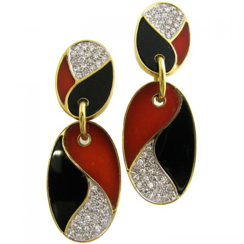 LARRY-A-Pair-of-Diamond-and-Onyx-Earrings-Circa-1970-1