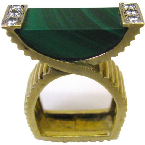 Malachite_and_Diamond_Ring
