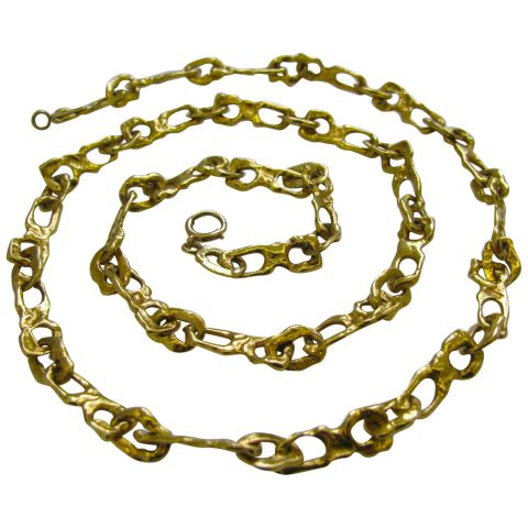 Tiffany_and_Co_Gold_Link_Necklace_circa_1970