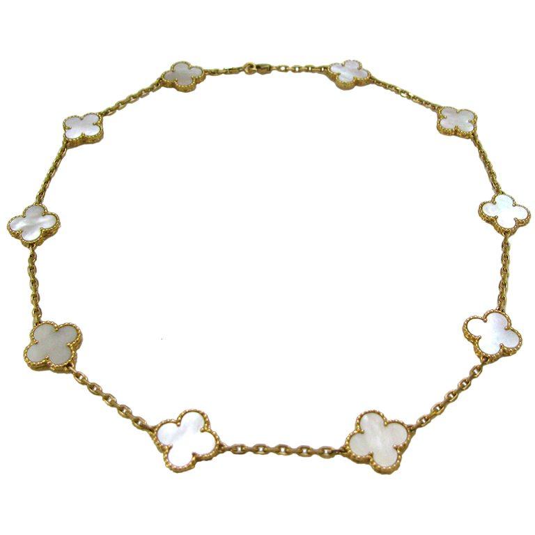Van Cleef And Arpels Necklace Neiman Marcus
