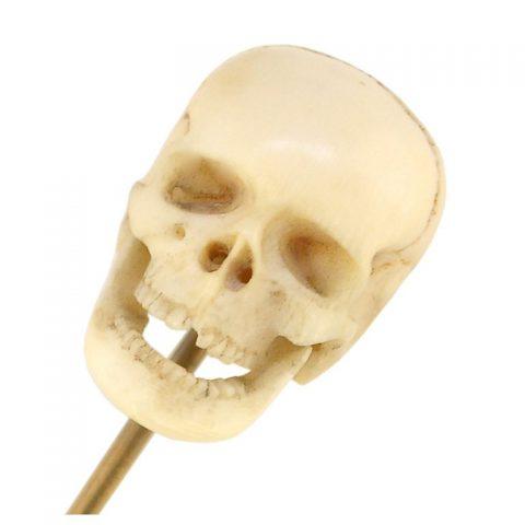 ivory-skull-stick-pin-19th-century-1