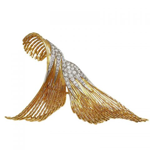 sterle-gold-and-diamond-brooch-french-c1960-1