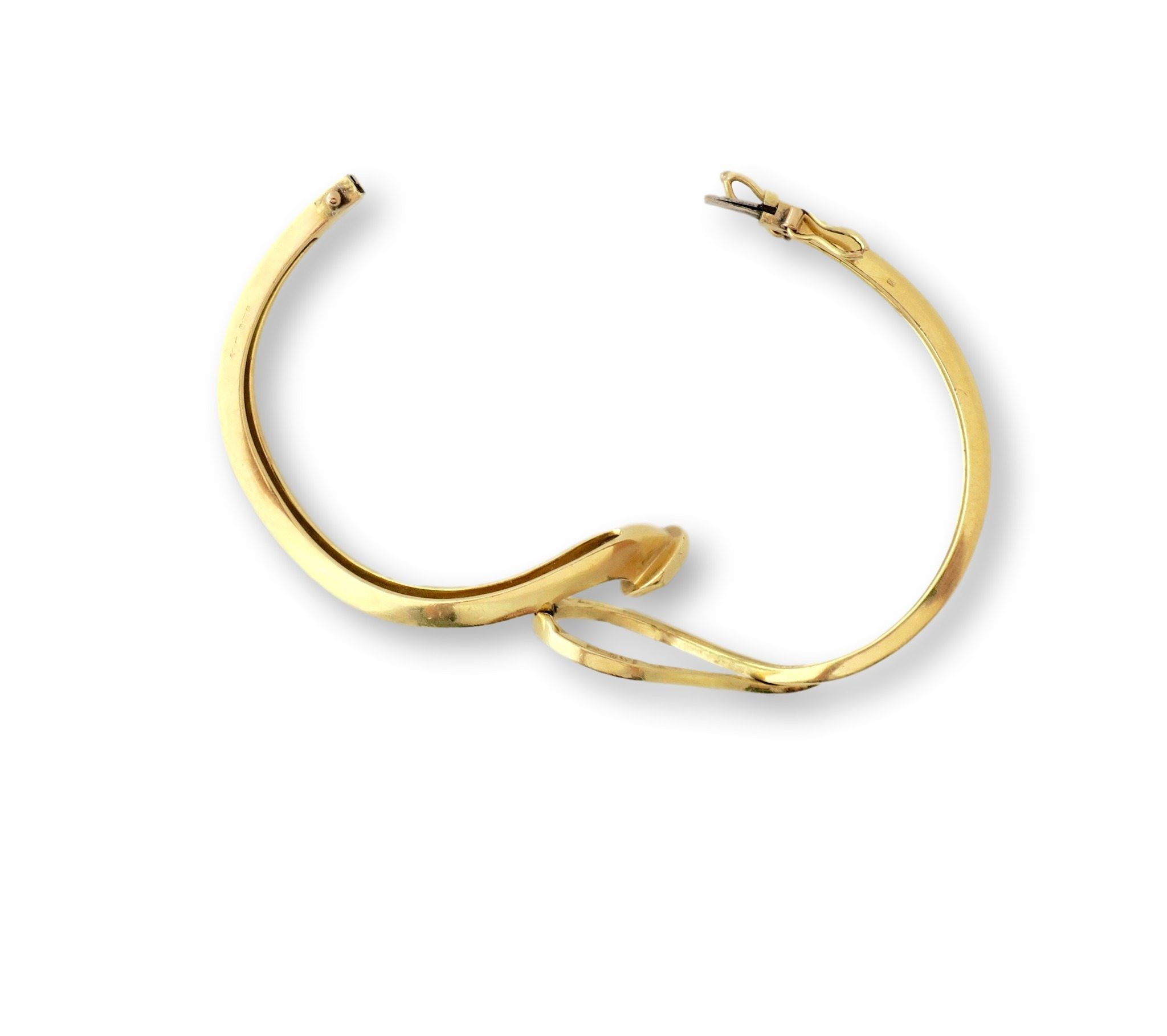head bangle plated c nail product gold bracelet knot