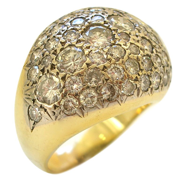 bombe jewelry 18k gold and bombe ring klosterman jewelry 3630