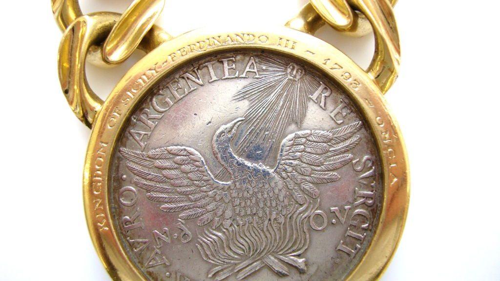 Bulgari 18k Gold And Coin Necklace Circa 1970 Kimberly