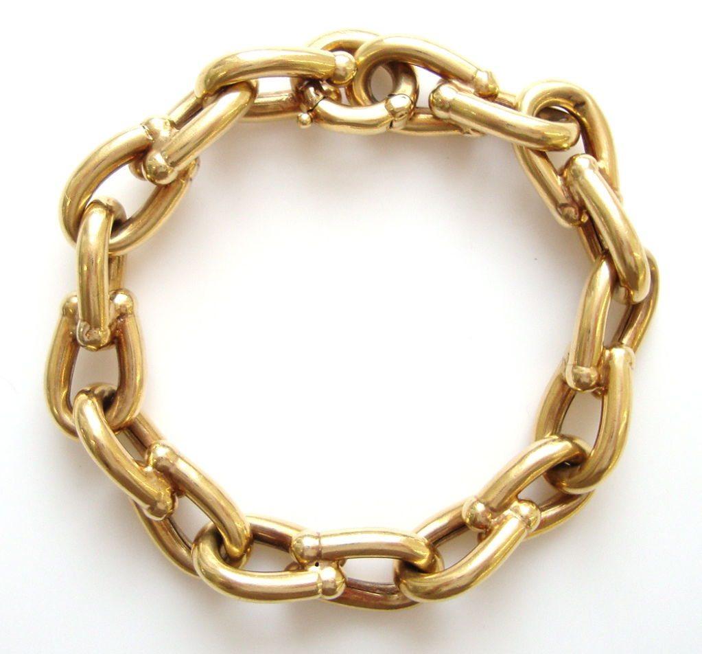 Cartier bracelet 18k gold