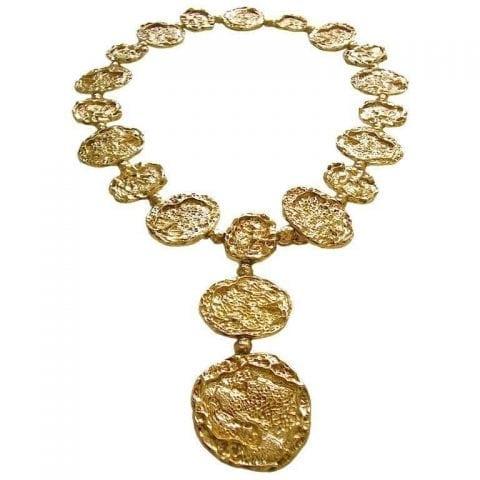 8aefd13db Cartier Silver-Gilt Necklace Belt circa 1970